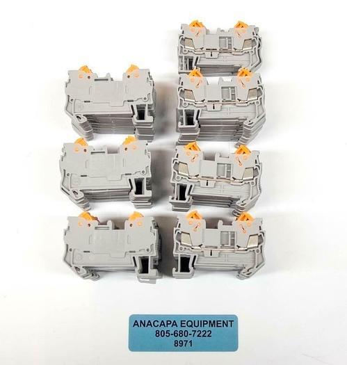 Phoenix Contact QTC1.5 3205019 DIN Rail Terminal Blocks LOT OF 65 NEW (8971)R
