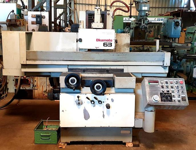 Okamoto ACC-124DX Surface Grinding Machine