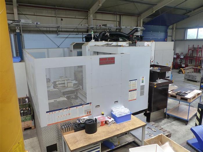 Använd MORI SEIKI NH 6300 DCG APC 6, från 2012, horisontell fleroperationsmaskin