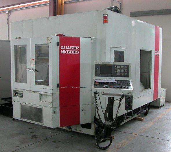 Used Vertical Machining Centre QUASER mod. MK60IIS