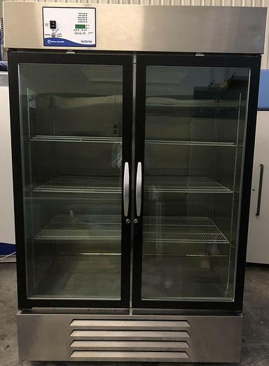 Used Fisher Scientific MR49SS-GAEE-FS Isotemp Double Door Refrigerator 115v