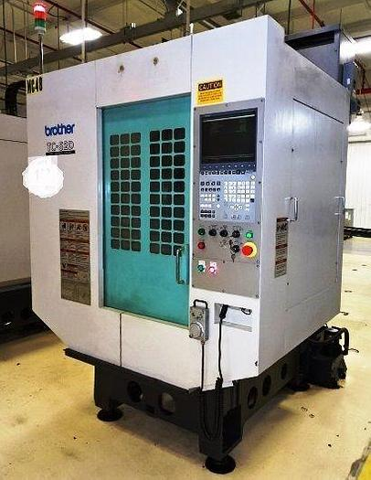 Used BROTHER TC-S2D 5-AXIS CNC DRILL TAP