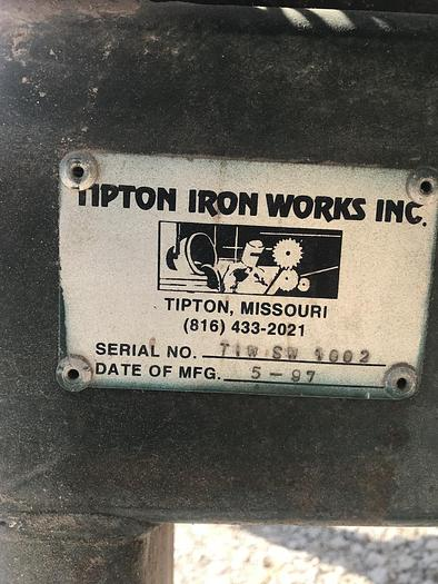 Tipton Iron Works Chop Saw