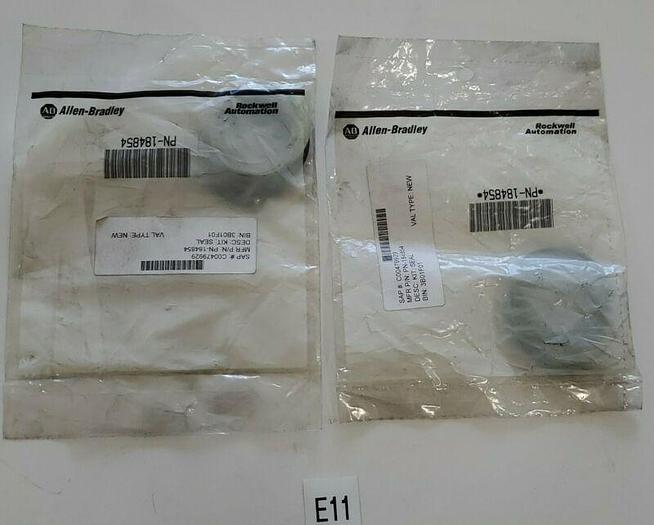 *NEW IN BAGS* LOT OF 2 Allen Bradley PN-184854 Push Button Selector Kit Warranty