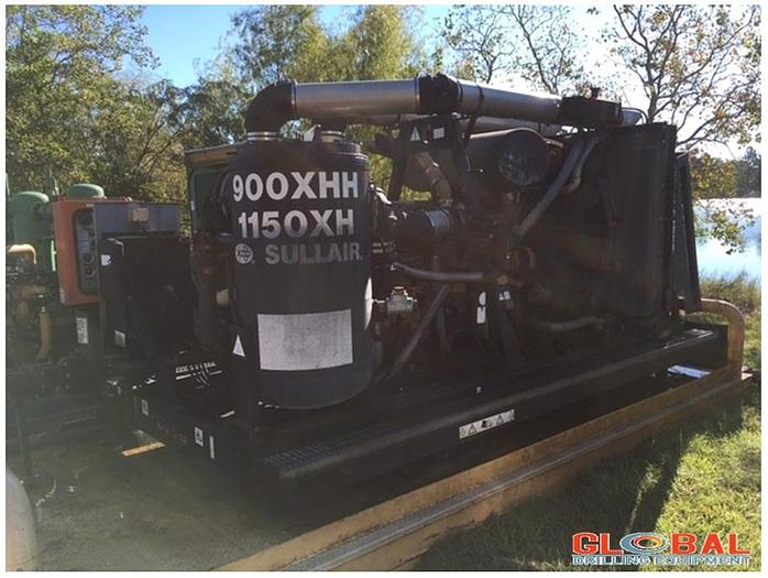 Used Item 0763 : 2008 Sullair 900XHH / 1150 XH Air Compressor