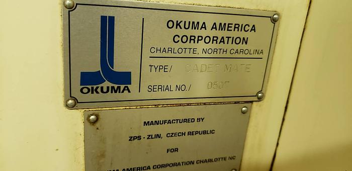 Okuma milling center Cadet mate