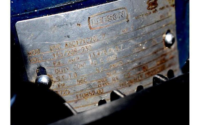 USED VACUUM PUMP, EDWARDS E2M18, 14.7 CFM