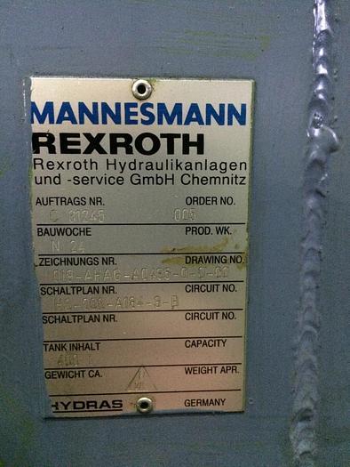 Hydraulikaggegat Mannesmann Rexroth