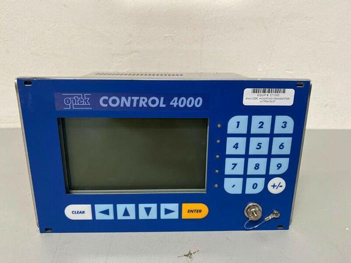 Used Optek Control 4000 C4222-EX FM-D Photometric Analyzer Converter 115/230V