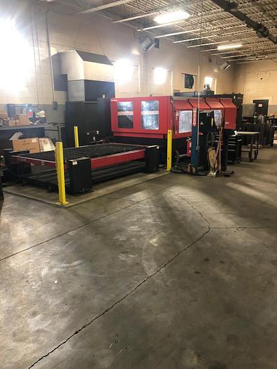 Used 4000 Watt Amada FO-3015NT CNC Laser