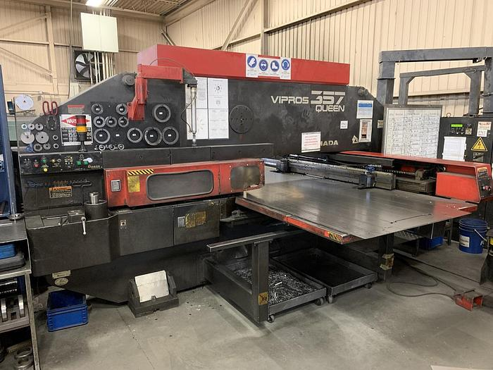 Used 2000 AMADA VIPROS 357 QUEEN