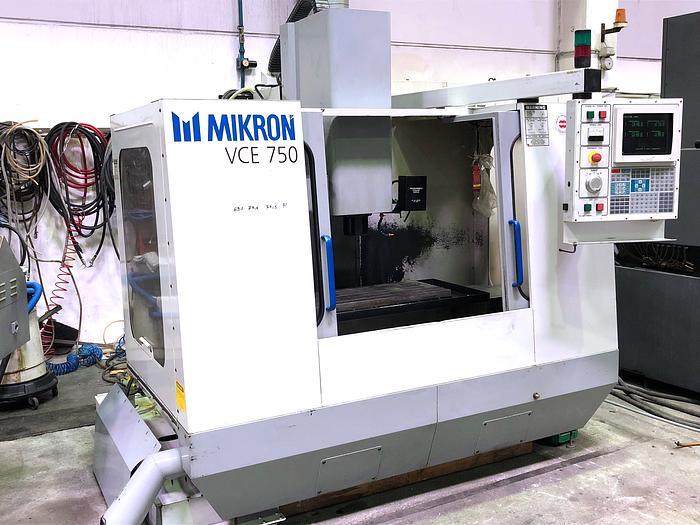 1998 Bearbeitungszentrum MIKRON HAAS VCE 750