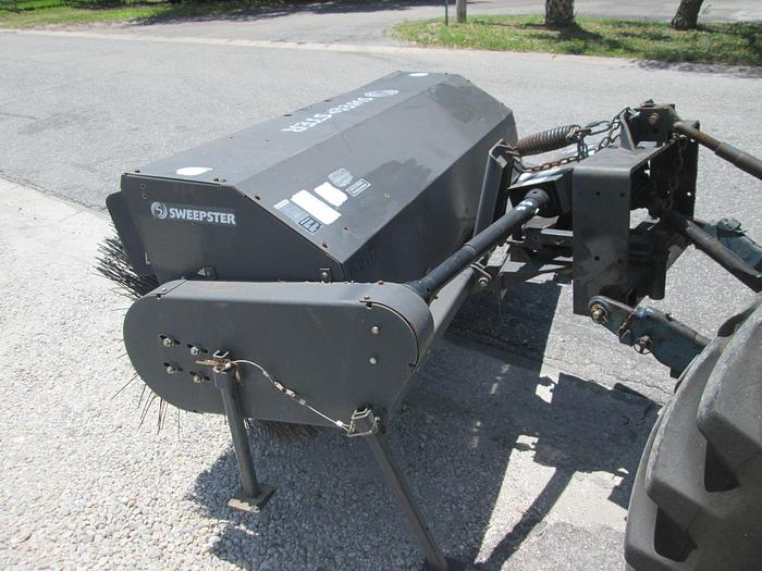 Used Three-Point Sweepster Broom Rear Mount