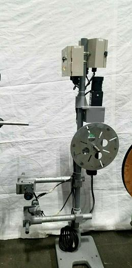 Used Multi Reel Motorized Coil Feed with Controller for Stamping Press Side Take up