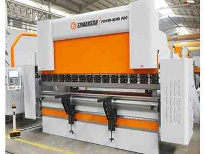 242 Ton x 12' Ermak Power Bend Pro Falcon CNC Press Brake