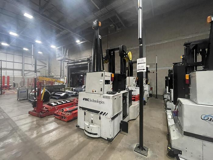Used FMC SGV2000 Clamp Automated Forklift