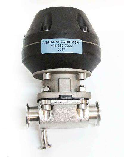 Used Gemu Type 687 Pneumatically Operated Diaphragm Valve 1.4435 (5617) c