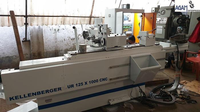 Refurbished Kellenberger UR 125 X 1000 CNC Cylindrical Grinder