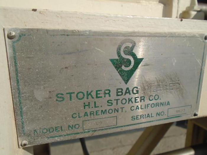 USED BAG FILLER, STOKER VALVE BAGGER, SPOUT TYPE BAGS