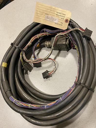 Used FANUC ROBOT CABLE A660-4003-T617#L14R03 RM1 STD A-CAB