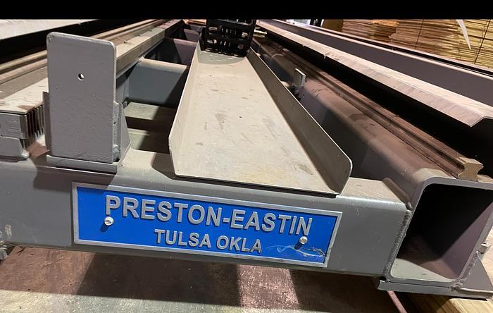 Used PRESTON EASTON MODEL RTT20 40' ROBOT TRANSFER TRACK ORIGINALLY RAN FANUC ARCMATE 120IC/10L