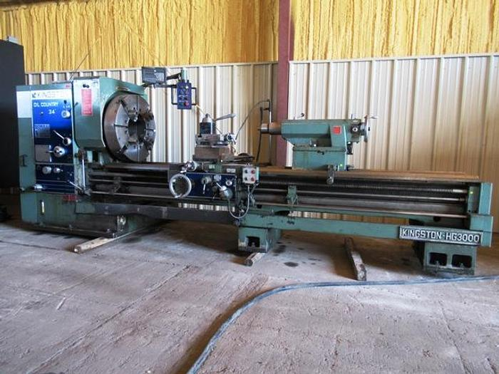 Used 2012 Kingston HG3000 Oil Country Lathe