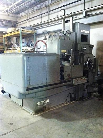 "42"" Mattison Rotary Surface Grinder, 24"" Vertical, 75 hp, ID17351"