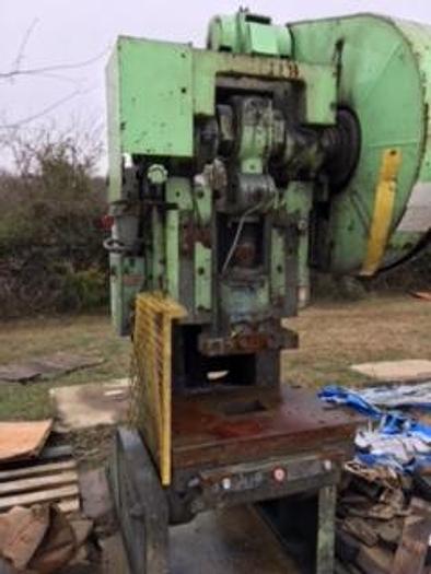 Used Bliss C-60 OBI Flywheel Gap Frame Press