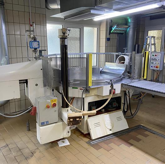 Gebraucht gebr. Zuckerkneter Fabrikat RUFFINATTI Type IM-70-H mit Hebevorrichtung EIM-70.
