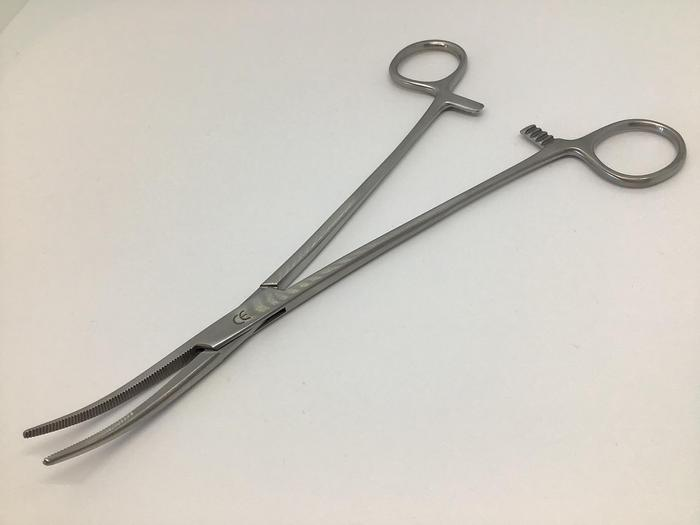 Forceps Artery Heiss Slightly Curved 200mm (8in)