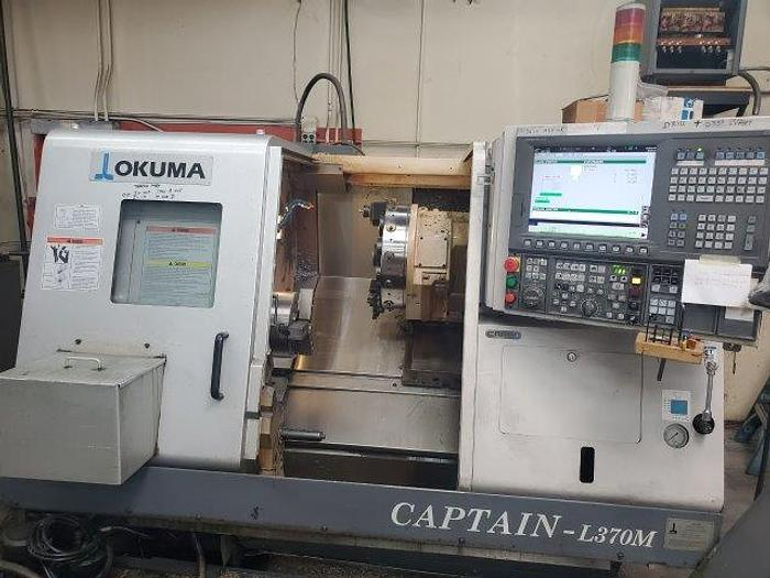 No. CAPTAIN L370M, OKUMA, OSP, 2007, C AXIS, LIVE TOOLING [5470]