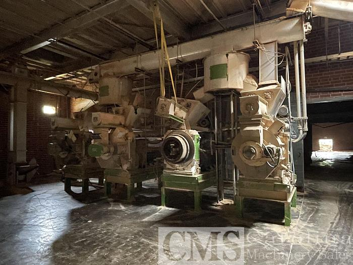 Used 2020 Complete Pellet Mill 10 TPH with Bagging Line