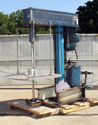 Used 10 HP HOCKMEYER HIGH SPEED DISPERSER – AIR/OIL – UL LISTED (#9647)
