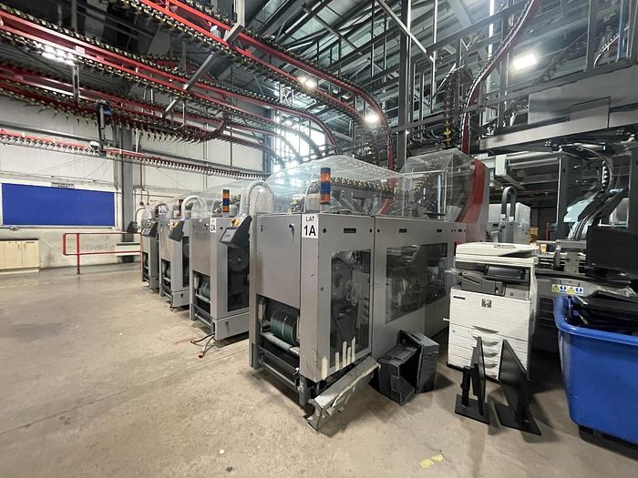 Used FERAG LAT-AWS-100-FVM Transfer Station