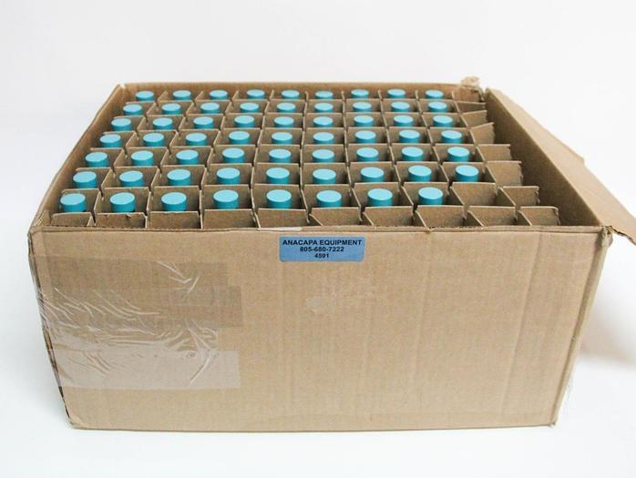 Qorpak GLC-01925 4oz Amber Glass Bottles w/ Green Thermoset Caps NEW LOT (4591)