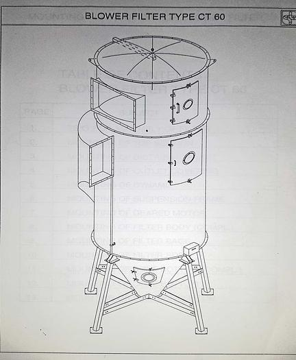 1999 JFK JK 60 - 3.5 Blower Filter