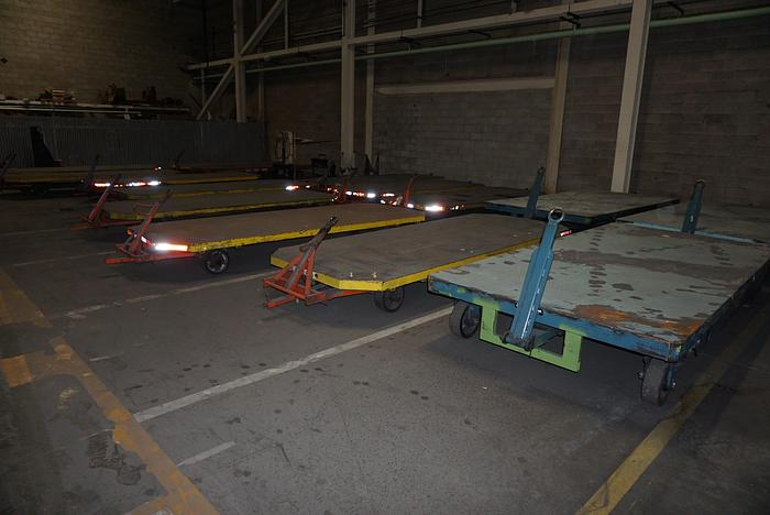 Used FLAT ROLLING CARTS