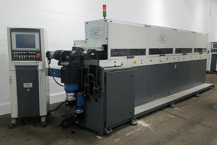 Used 1-5/8″ J. Neu NFB040-4000 CNC Freeform 5 axis