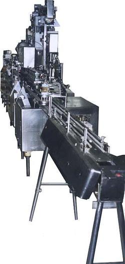 Używane Dozownica do butelek plastykowych i spawania wieczek