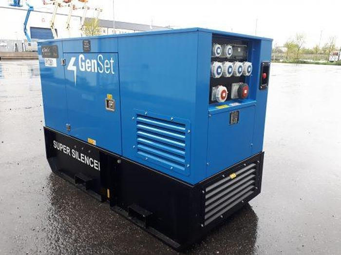 Genset MG 50 SS-Y - Road Tow - Rental Spec MG 50 SS-Y