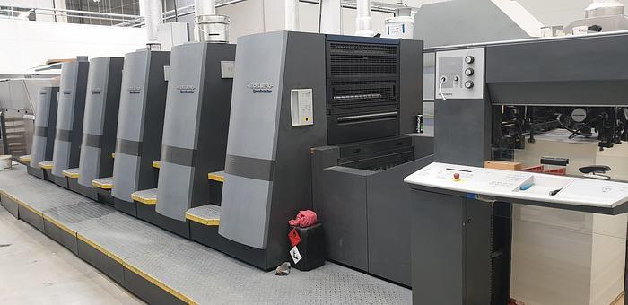 Used Heidelberg CD74-5+LX-C 2005