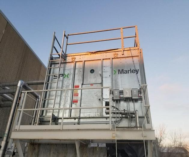 Used SPX – MARLEY COOLING TOWER – 6′ 6 1/4″ L X 12′ 10″ W X 10'2 1/2 IN. H (#9802)