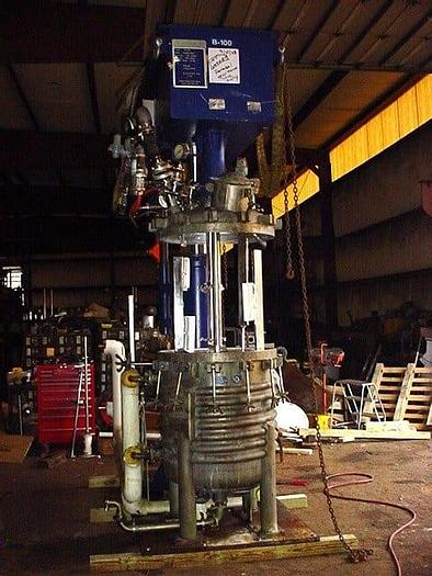 Used 100 GALLON HOCKMEYER DUAL SHAFT MIXER – S/S – VACUUM – JACKETED (#9212)