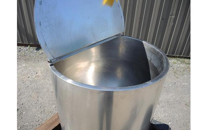 USED 30 GALLON JACKETED KETTLE, STAINLESS STEEL