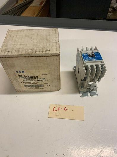 Cutler Hammer CN35AN2AB Freedom Series Lighting Contactor 2P 110/120v Coil