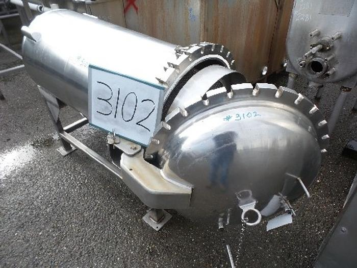 Used Brighton Corp. 110 Gallon Filter Tank