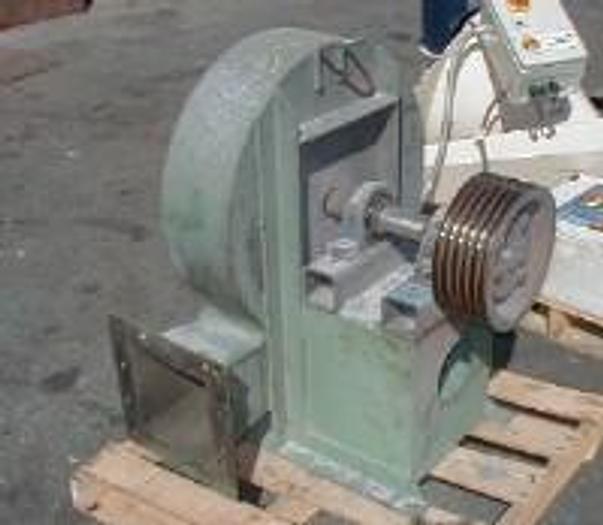 Used 15 Hp Air Ring blower belt driven by AC motor.