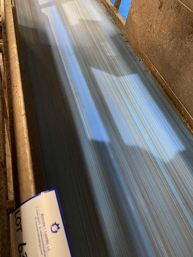 Used Steel Conveyor belt 3m L 1m W