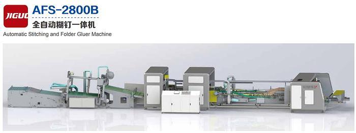 Automatic Stitching and Folder Gluer Machine