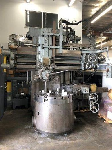 "Used BULLARD, No. CUTMASTER 42"", 4 JAW CHUCK, DIGITAL READOUT, 5 STATION TURRET [5334]"